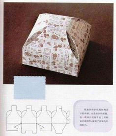folding boxes: origami books - crafts ideas - crafts for kids Paper Gift Box, Diy Gift Box, Diy Box, Paper Gifts, Gift Boxes, Carton Diy, Packaging Box, Diy Rangement, Printable Box