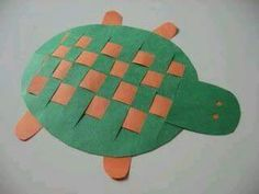 turtle weaving craft ideas « funnycrafts
