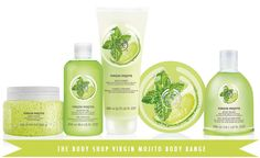 BEAUTY NEWS: The Body Shop To Launch The Mojito Collection