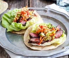 This Gluten-Free Korean Tacos recipe will help create sweet moments. Korean Tacos, Snack Recipes, Snacks, Gluten Free, Dinner, Ethnic Recipes, Sweet, Drinks, School