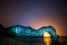 Backlit Durdle Door Landscape by DorsetScouser, via Flickr