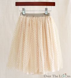 Over the Loom - Dot Tulle Skirt, $29.95 (http://www.overtheloom.com/bottoms/dot-tulle-skirt/)