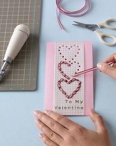 30+ Unique DIY Valentines Day Cards & Envelopes