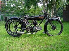Raleigh 1925-Model 2 350cc 1 cyl sv
