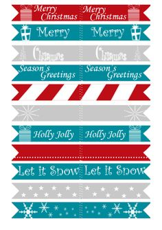 Probably Crafting...: Christmas Printable Set 1