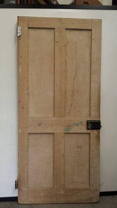 Salvaged Period 4P Door (Dipped) - Mac's Warehouse Dublin