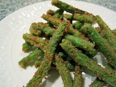 Green Bean French Fries. Looks yummy.