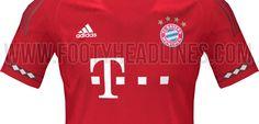 Bayern Munich 2015-16 Home jersey leaked