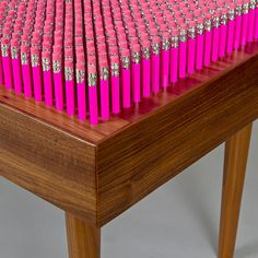 "Limited Edition 10/100 ""Pencil Bench"", England, 2007"
