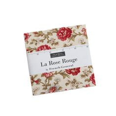 Moda Fabrics French General La Rose Rouge Charm Pack 5 Inch