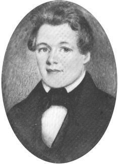 George Childress was born in Tennessee in 1804. He came to Texas in December 1835 and is believed to be the author of the Texas Declaration of Independence. After three failed attempts at establishing a law practice, he committed suicide in 1841.  Courtesy of The Dolph Briscoe Center for American History, The University of Texas at Austin