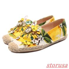 176921c5cab Women Rhinestone Flower Espadrilles Flats Slip On Loafers moccasin Casual  Shoes