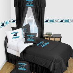 Superior Carolina Panthers Locker Room Bedding U0026 Accessories