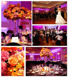 Gorgeous wedding at the Omni San Francisco...what lighting!!