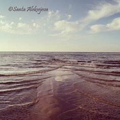 Baltic Seashore photo  Fine Art Photography sea by BlossomingDream
