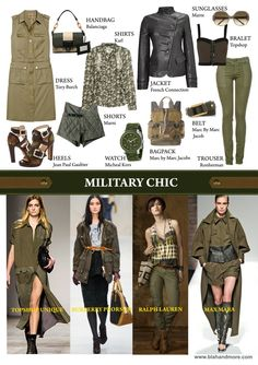 Military Fashion Your country needs you: military fashion inspiration