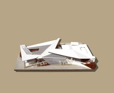 """The ARCHive - Lawrence Raposo, USF School of Architecture + Community Design, Class of 2017 """"ArtCenter Manatee"""", Advanced Design A: Professor Michael Halflants, Spring 2015. An addition to an existing Art Center that houses galleries, shops, and artists studios that delivers light and green spaces for open creativity."""