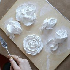 New Ideas For Wall Texture Diy Drywall Decor Plaster Paint, Plaster Crafts, Sculpture Painting, Wall Sculptures, Texture Painting, Texture Art, Plaster Of Paris, Palette Knife Painting, Mural Art