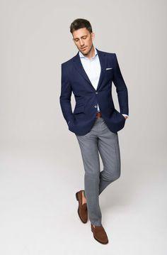 110 Ideas De Blazer Azul Oscuro En 2021 Moda Hombre Ropa De Hombre Blazer Azul