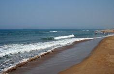Zacharo beach in Peloponnese