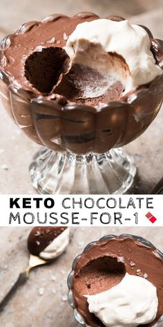 Searching for keto recipes? Search no longer! The BEST keto recipes that can be made in 5 minutes or less. You don't want to skip these. Desserts Keto, Keto Friendly Desserts, Dessert Recipes, Holiday Desserts, Health Desserts, Easy Keto Dessert, Plated Desserts, Chocolate Paleo, Chocolate Art