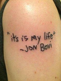 Dieser Jon Bovi-Fan.
