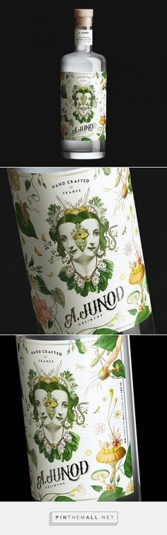 A. Junod Absinthe packaging design - http://www.packagingoftheworld.com/2017/10/a-junod-absinthe.html