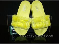 sports shoes 6006e 0f030 PUMA BY RIHANNA LEADCAT FENTY FUR SLIDE Yellow Free Shipping EnCmjn, Price    65.00 - Air Yeezy Shoes