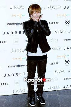 MBLAQ Mir and Thunder at  Seoul Fashion Week