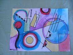 ART with Mrs. Smith: Kandinsky Art Lesson