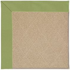 Capel Zoe Machine Tufted Green/Brown Area Rug Rug Size: Round 12' x 12'