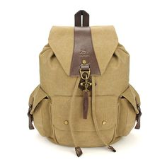 Casual Vintage Men s Backpacks Canvas Women Backpack School Bags Small Bags d1e53437f7a14