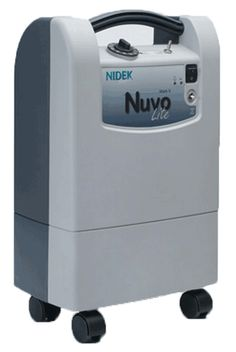 Nuvo Lite lightweight home oxygen concentrator.