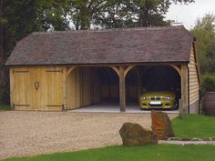 wooden garage barn - Google Search