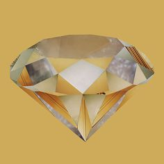 Liesl Pfeffer Yellow Diamond, 2011 Type-C digital print  60 x 60 cm  Edition 1/5