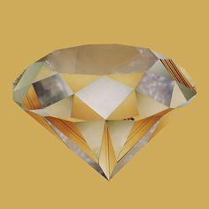 Liesl Pfeffer Yellow Diamond, 2011 Type-C digital print  60 x 60 cm  Edition 1/5
