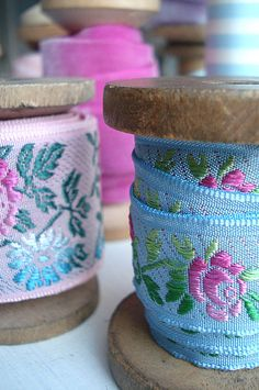 French Ribbons by such pretty things, via Flickr