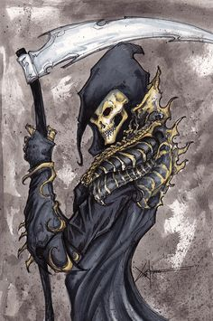 I was lost in thought and wondered what the Grim Reaper's armor would look like if he had any, and well this is what i came up with lol Checkout my othe. Grim Reaper s armor Scary Vampire, Gothic Vampire, Vampire Girls, Grim Reaper Art, Don't Fear The Reaper, Hot Vampires, Skull Artwork, Arte Obscura, Angel Of Death