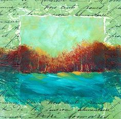 gelli plate | ... using a 6 x 6 gelli plate and golden open acrylics you can see