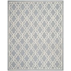 Safavieh Hand-tufted Moroccan Cambridge Silver Traditional Wool Rug (6' x 9') - Free Shipping Today - Overstock.com - 15316234 - Mobile