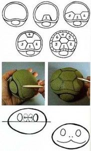 piedras pintadas como tortuga (2)