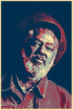 Johnny Clarke-reggae-music-pop art-poster-wall art-interior decoration-khaki and orange Pop Art Posters, Vintage Posters, Fine Art Photo, Photo Art, Original Music, Original Art, Rastafari Art, All Star, Reggae Music