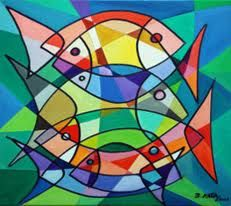 Fish by Beatriz Milhazes