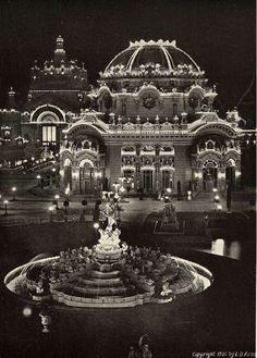 Temple of Music, Buffalo, New York, 1901.