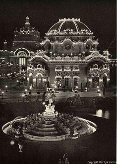 Temple of Music, Buffalo, New York, 1901.