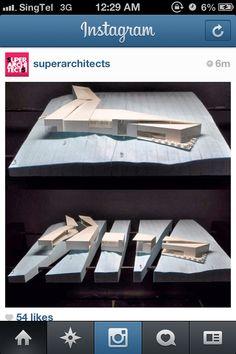 Architecture section cut