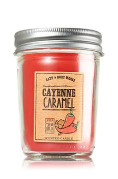 Cayenne Caramel Mason Jar Candle - Home Fragrance - Bath & Body Works