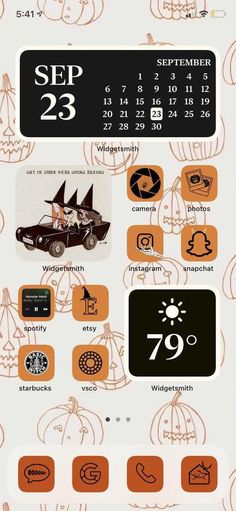 Iphone Wallpaper Vsco, Fall Wallpaper, Halloween Wallpaper Iphone, Calendar Wallpaper, Halloween Icons, Halloween Themes, Halloween House, Rainy Day Drawing, Instagram And Snapchat