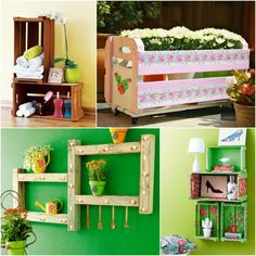 3 cheap DIY furniture projects – Ideas to reuse wooden things at home