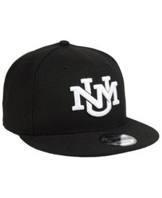 New Era New Mexico Lobos Black White Fashion 9FIFTY Snapback Cap f17499c6297
